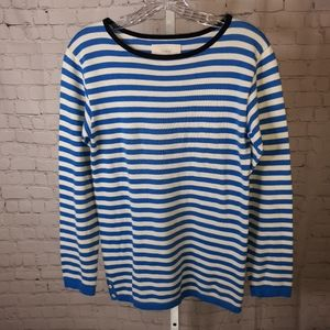 Anthro Birds of Paridis Trovata Striped Sweater M